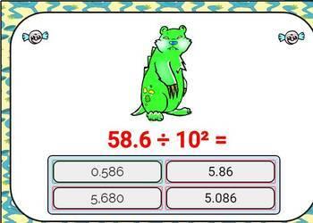 Exponential Form  Digital Boom Cards  Eureka Math  Grade 5 unit 1 lesson 3