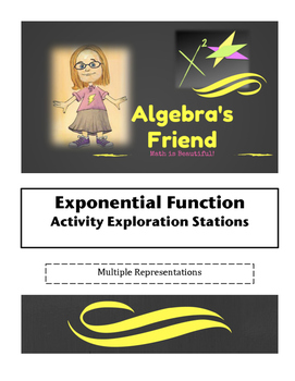 Exponential Function Activity Introductory Exploration Stations