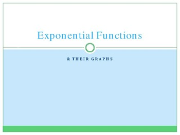 Exponential Function Graphs