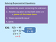 Exponential Function (advanced)