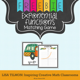 Exponential Functions Matching Game SAMPLE