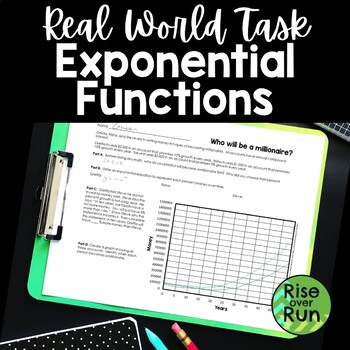 Exponential Functions Real World Task