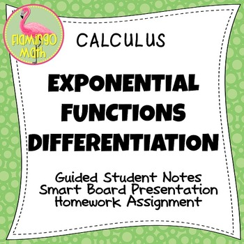 Calculus: Exponential Functions Differentiation