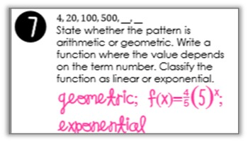 Exponential Functions Find Someone Who Activity