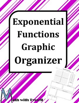 Exponential Functions Graphic Organizer