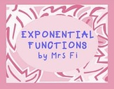 Exponential Functions Lesson 1 and 2