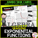 Graphing Exponential Functions Review Jumbo Cards