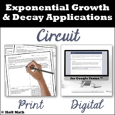 Exponential Functions Growth and Decay Applications CIRCUI