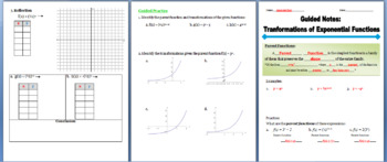 Exponential Functions Guided Notes