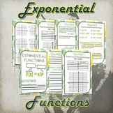 Exponential Functions - (Guided Notes and Practice)