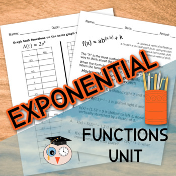 Exponential Functions Unit