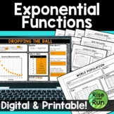 Exponential Functions Multiple Representations Practice
