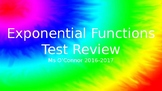 Exponential Functions Review