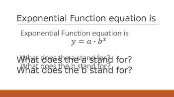 Exponential Functions Review Questions