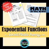 Exponential Functions - Social Media Frenzy - Math in the News!