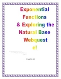 Exponential Functions Webquest