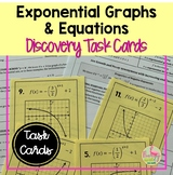 Exponential Graphs and Equations Discovery Task Cards (Pre
