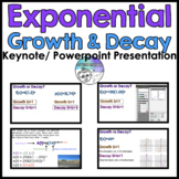 Exponential Growth & Decay PowerPoint Keynote