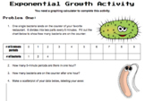 Exponential Growth Inquiry Lesson