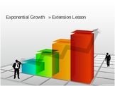 Exponential Growth PowerPoint Freebie to Accompany Exponential Growth Pack