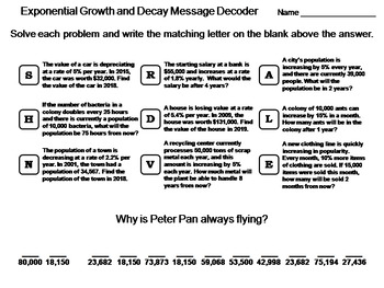 🎉 How to solve growth and decay problems  Exponential Word Problems likewise Potion Lab  Exponential Growth and Decay   Projects to Try moreover Alge 2 Exponential Growth And Decay Math Exponential Function besides Exponential Growth and Decay Word Problems Worksheet Answers Unique furthermore  moreover Exponential Growth And Decay Worksheet   Teachers Pay Teachers likewise 1 13 Alge 2   6 2 1 Exponential Growth and Decay Functions in addition Exponential Growth And Decay Worksheet   Teachers Pay Teachers as well  moreover Exponential Growth and Decay  Three Excellent Worksheets   TpT together with Worksheet  Exponential Functions   Applications    pound Interest likewise Growth Factor Exponential Function Math Exponential Function Growth moreover  additionally Exponential Growth and Decay Explorations  Ballots    Middle additionally Graphing exponential growth   decay  practice    Khan Academy also . on exponential growth and decay worksheet