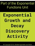 Exponential Growth and Decay Discovery Activity