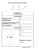 Exponential Growth and Decay Graphic Organizer