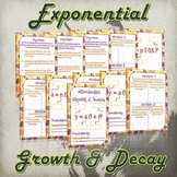 Exponential Growth and Decay - (Guided Notes and Practice)
