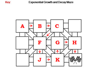 Exponential Growth and Decay: Math Maze
