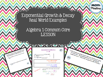 Exponential Growth and Decay - Real World Examples Lesson 1 of 2