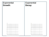Exponential Growth and Decay Student Guided Notes - A11C