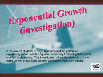 Exponential Growth (investigation)