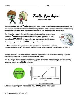 Exponential Growth with a Zombie Apocalypse