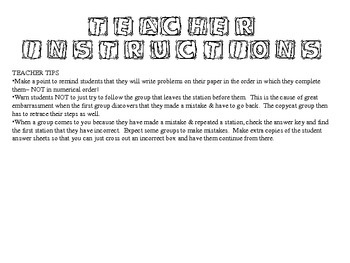 Exponential Log Function Real-World Word Problem Fun Activity