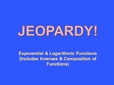 Exponential Logarithmic Equations Review Game