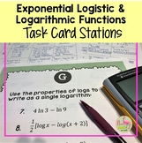 PreCalculus: Exponential Logistic and Logarithmic Stations Activity