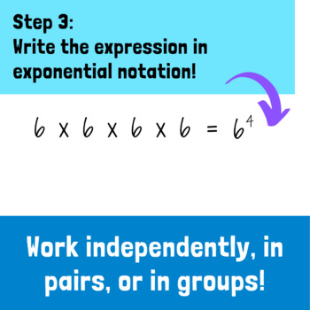 Exponential Notation Activity