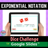Exponential Notation Digital Distance Learning Activity