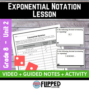 Exponential Notation Lesson