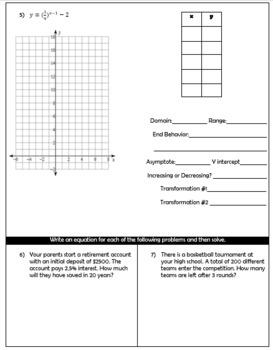 Exponential Quiz