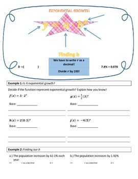 Exponential Word Problems, growth and decay