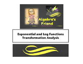 Exponential and Logarithm Transformation Analysis