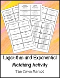 Exponential and Logarithm Matching Activity