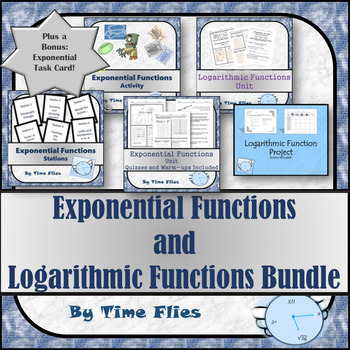 Exponential and Logarithmic Functions Bundle