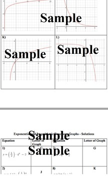 Exponential and Logarithmic Functions - Ready Made Lesson