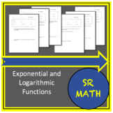 Exponential and Logarithmic Functions.  Review, Tests, and Activities.