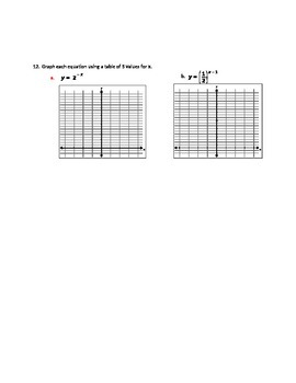 Exponential and Logarithms Test