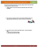 Exponential functions: Applications of biology, finance an