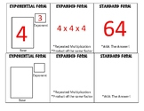Exponential to Standard Form Foldable