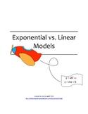 Exponential vs. Linear Models